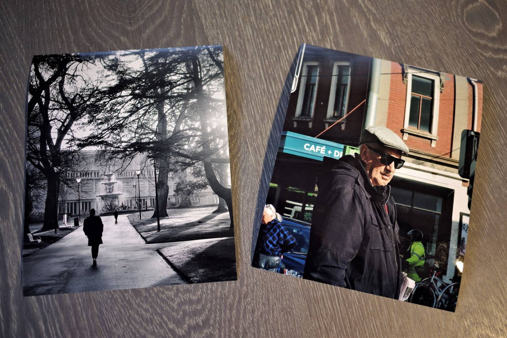 Two 10x8in prints look good in real life