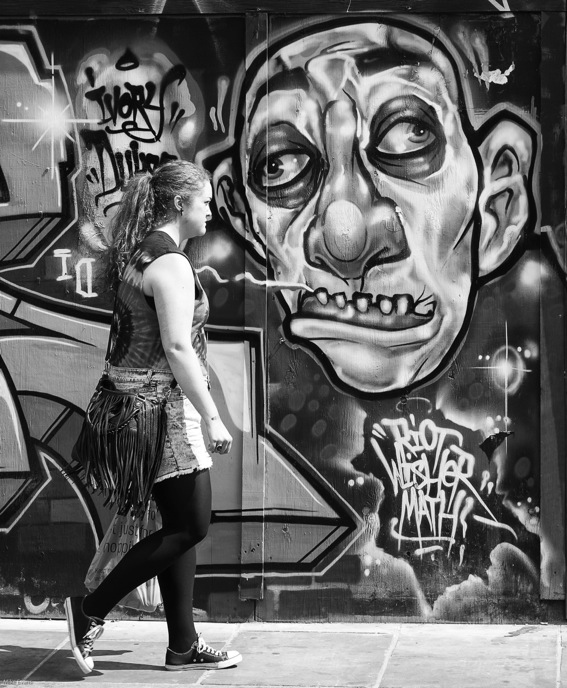 2013 again, testing the Leica Monochrom in London's Brick Lane market