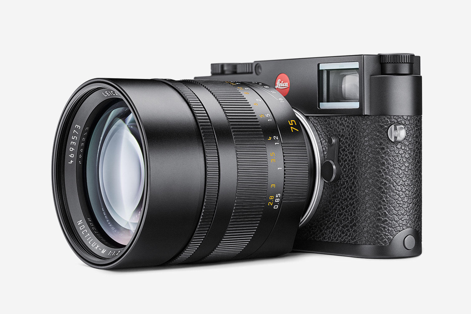The gold standard. Leica M10-P, £6,500 and Lecia 75mm Noctilux, £10,250. A brute of an outfit at a brute of a price. But you can be sure it is the best.
