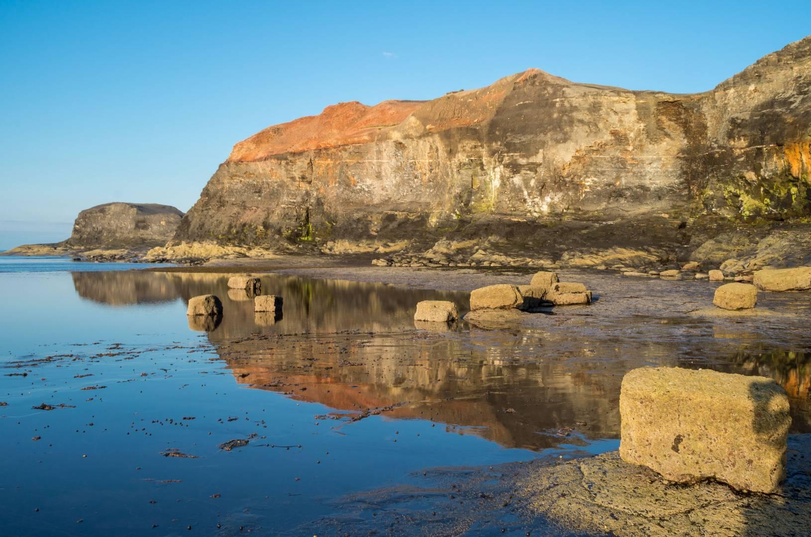 Saltwick Nab guardians of Saltwick Bay - Yorkshires Uluru - Leica X