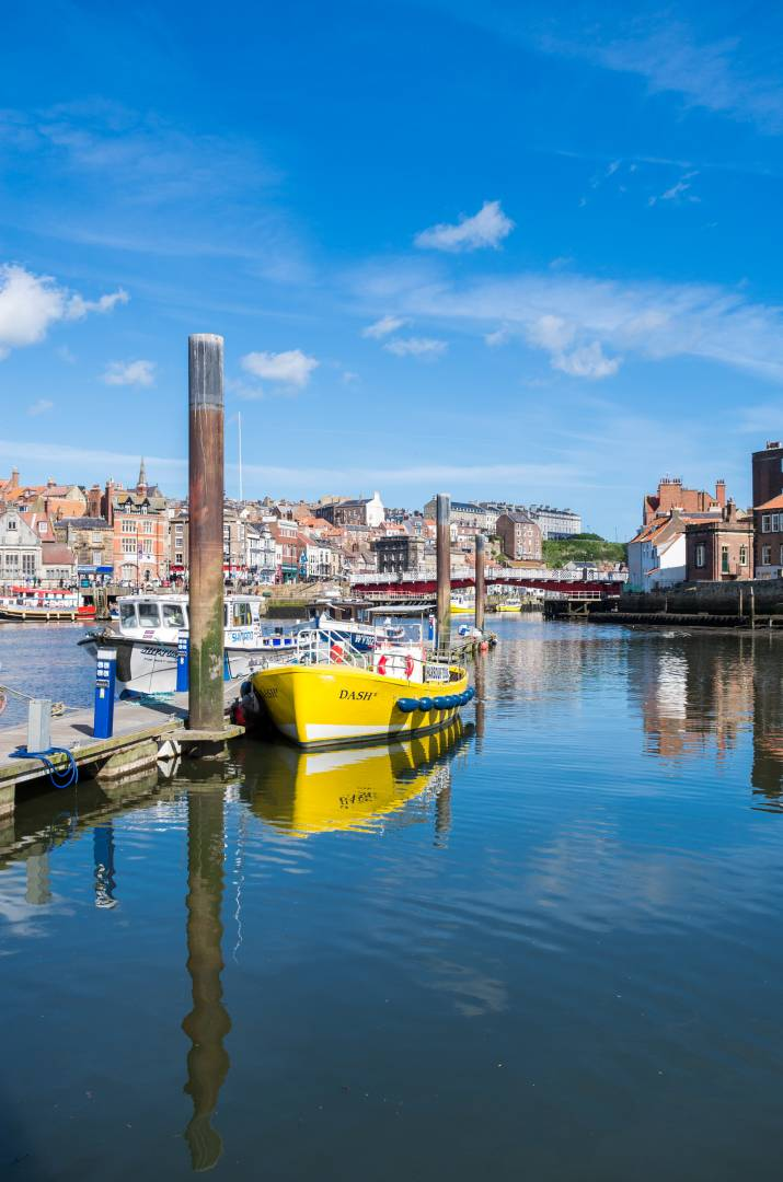 Whitby Harbour Reflection - Leica X