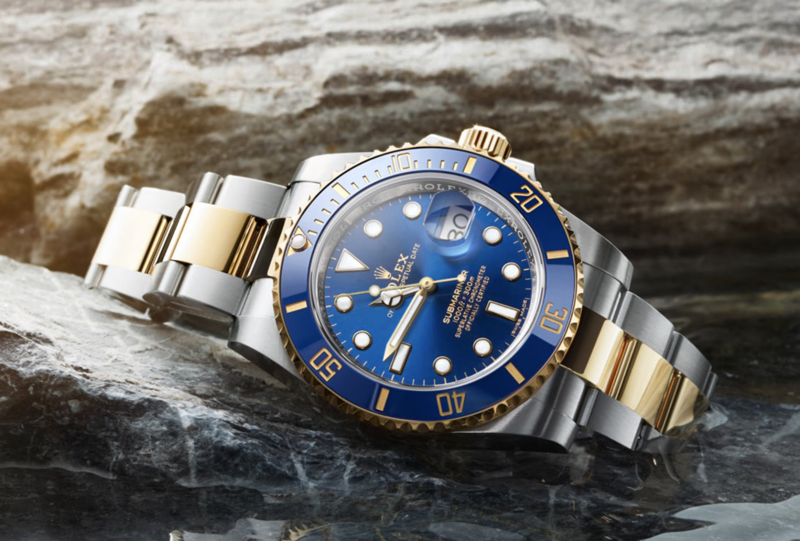 The Rolex Submariner steel and yellow gold will set you back around £10,000 but will last indefinitely if looked after. It will also appreciate in value over the years.