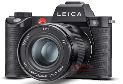 A leaked image which purports to be the forthcoming Leica SL2