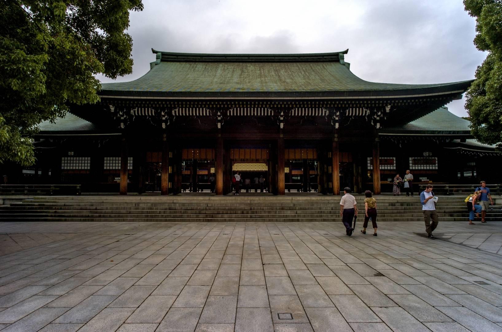 The Meiji Jingu shrine, Leica M8 15mm Voigtlaender