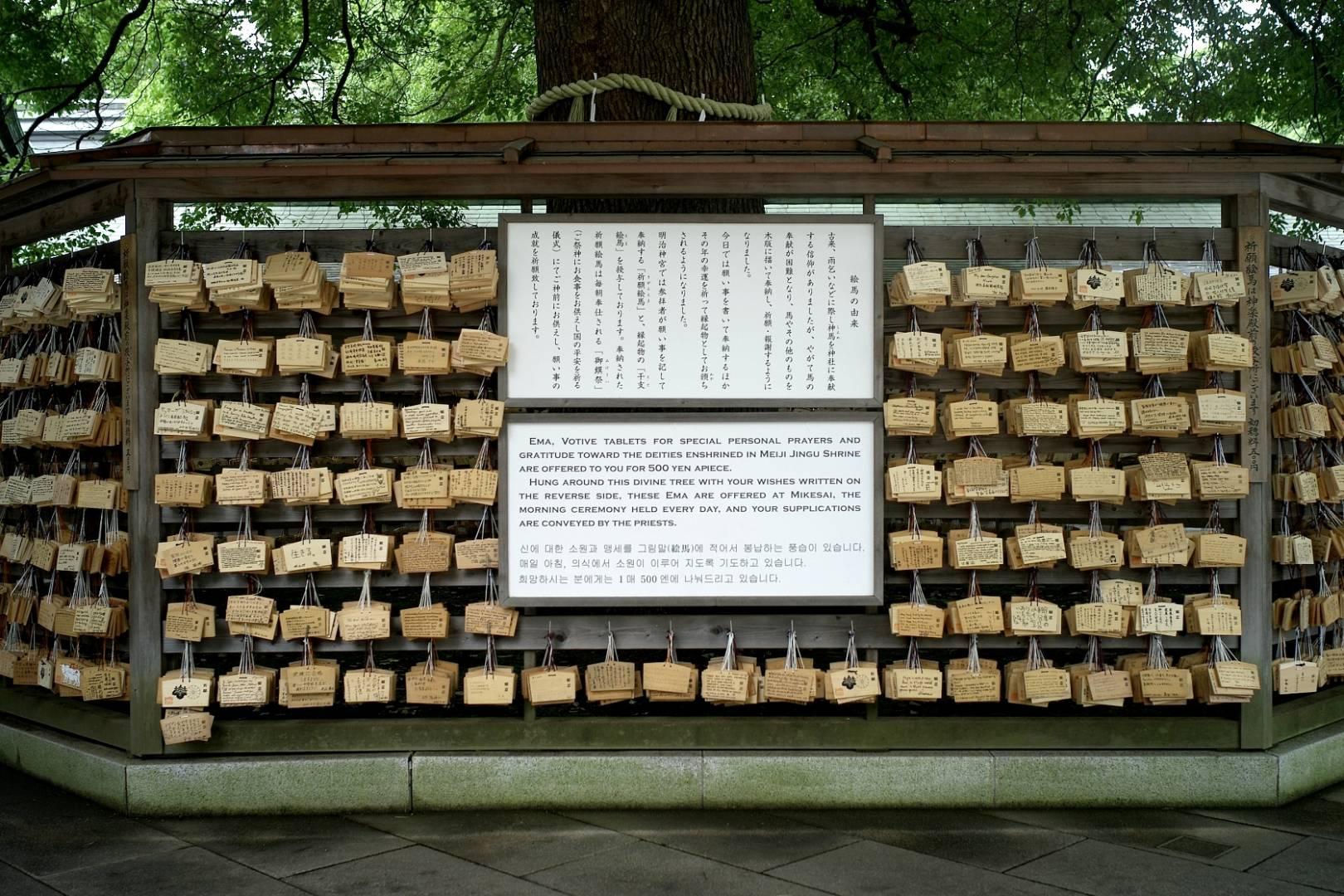 Meiji Jingu shrine, Votive Cards, Leica M8 28mm Voigtlaender 1.9