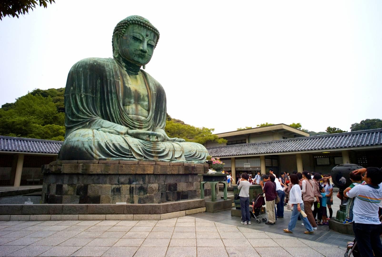 Great Buddah of Kamakura, Kotoku-in Temple, Leica M8 15mm Voigtlaender