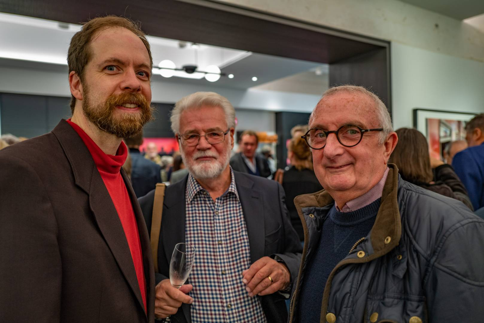 Dan Bachmann, Tony Cole and Tom Lane, all Leica Society members