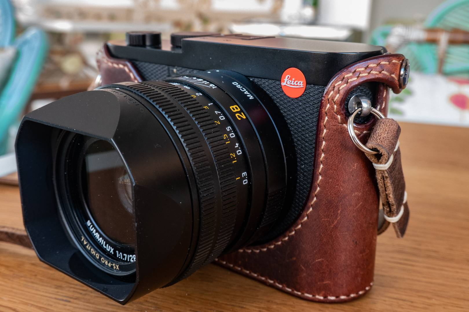 The Leica Q and, here, the Q2 (with it's custom-made Arte di Mano halfcase) are wonderful travel cameras. But they are quite bulky, especially in the lens department. And how often will you shoot street photography at f/1.7?
