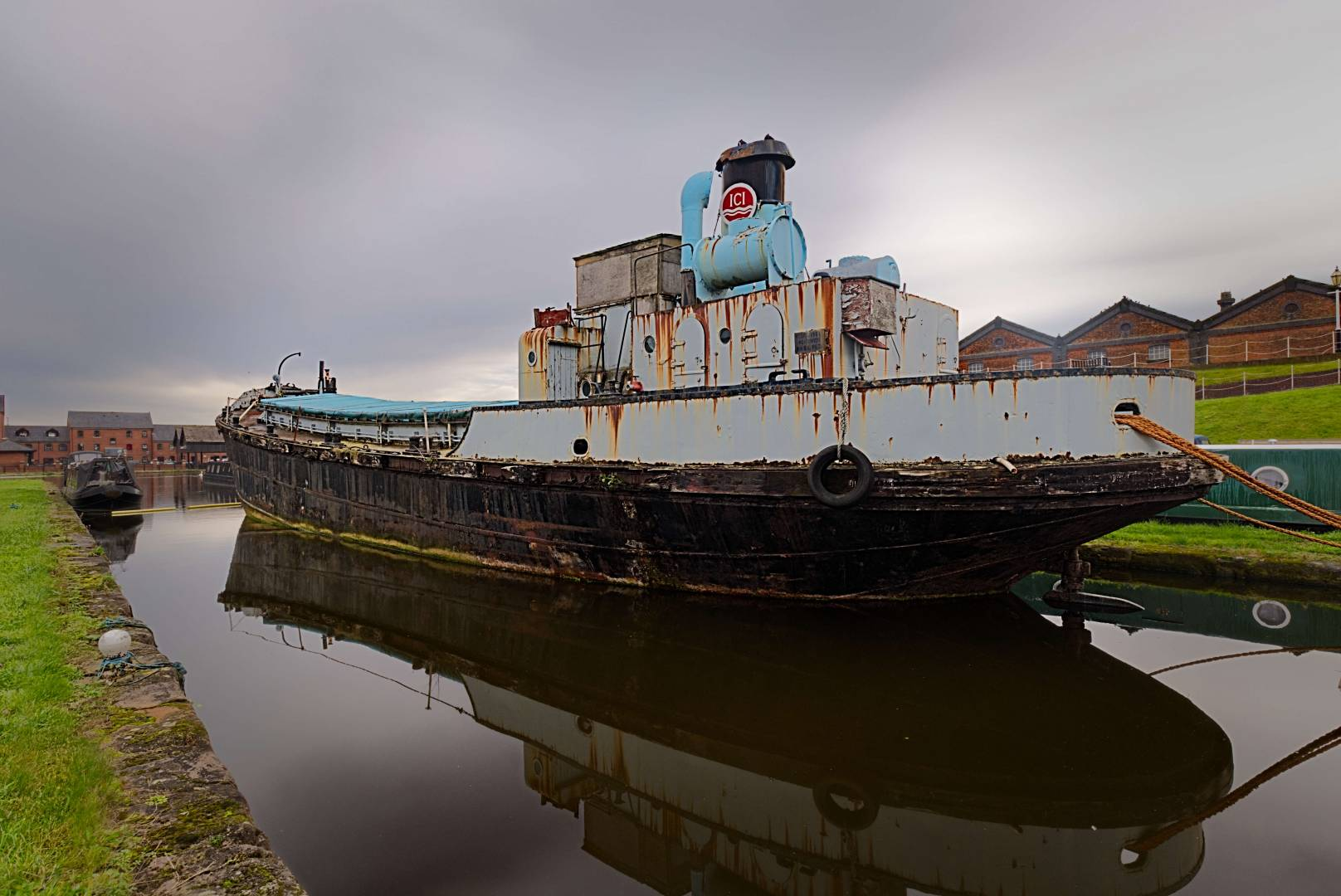 MV Cuddington, export of soda ash.  Fuji X-T20 with 10 - 24 f/4