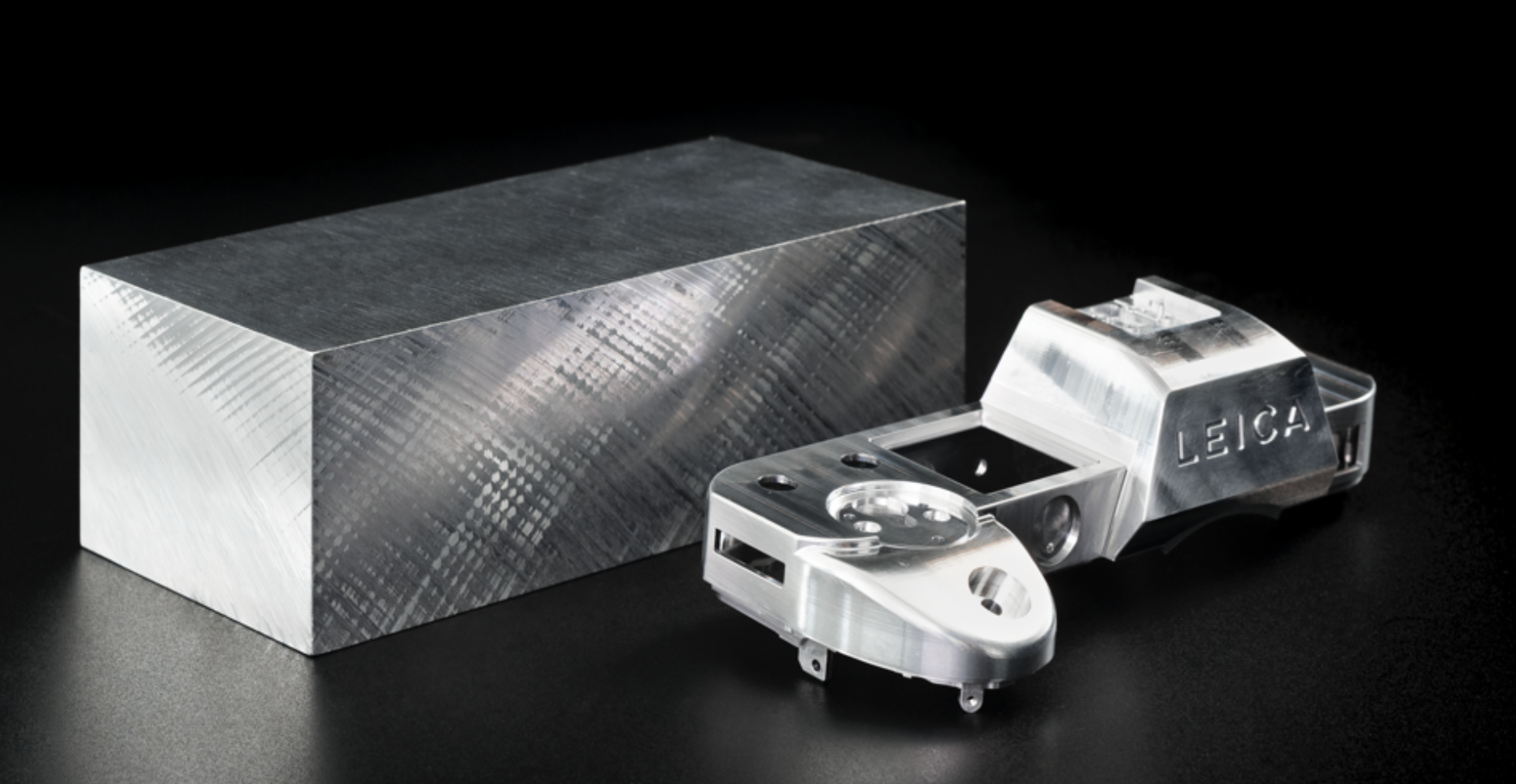 The top plate of the new SL2 is machined from a solid block of aluminium (shades of the TL....)
