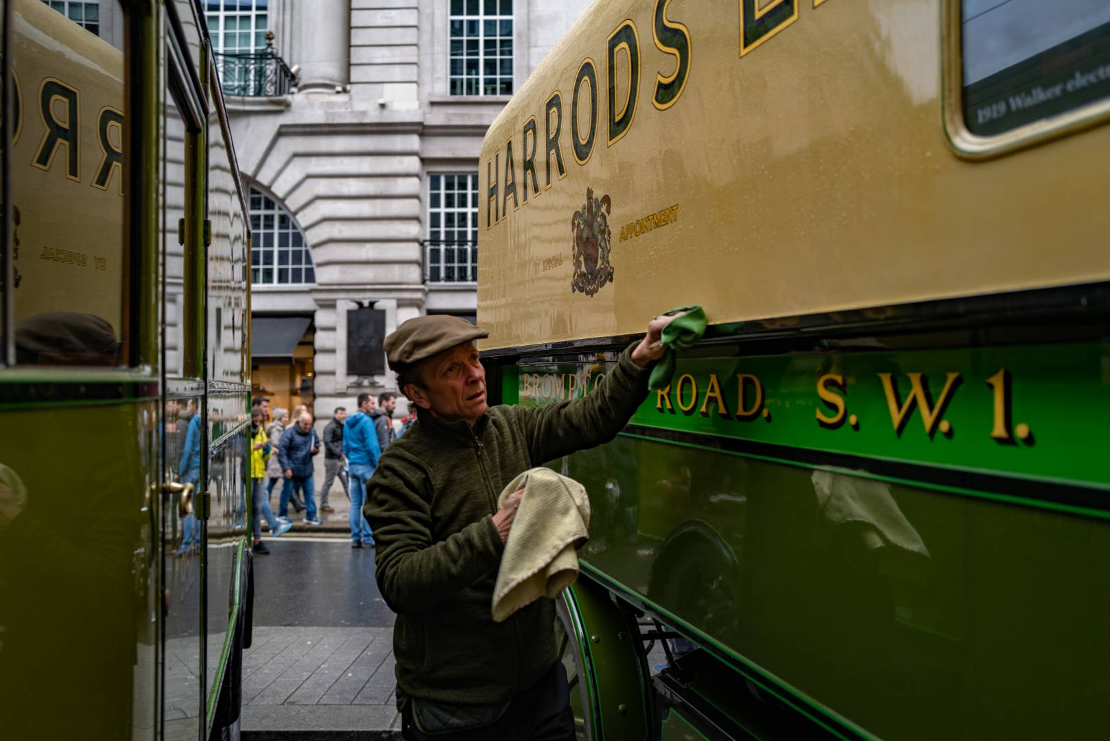 Pride in ownership and creating a good impression for Harrods of Knightsbridge