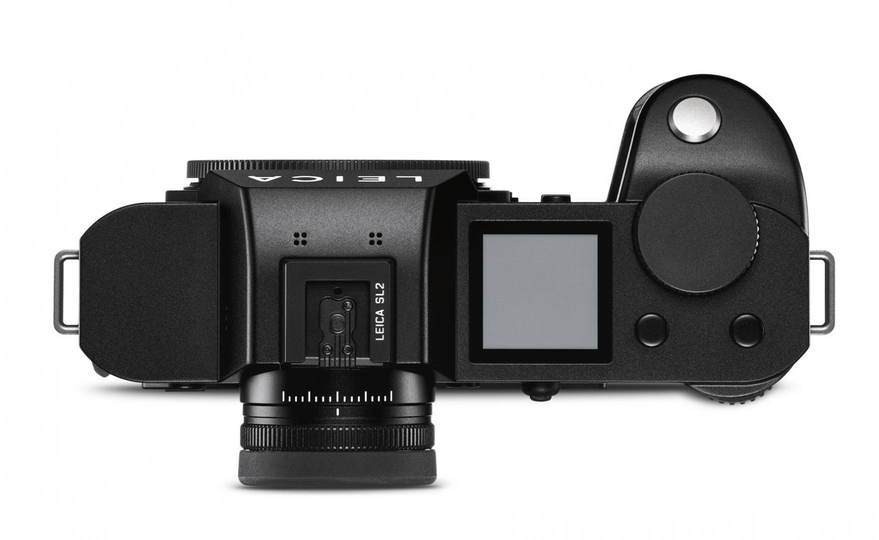 The top plate is very similar to the minimalistic SL in appearance. The very impressive viewfinder features the same very precise diopter ring as seen on the SL