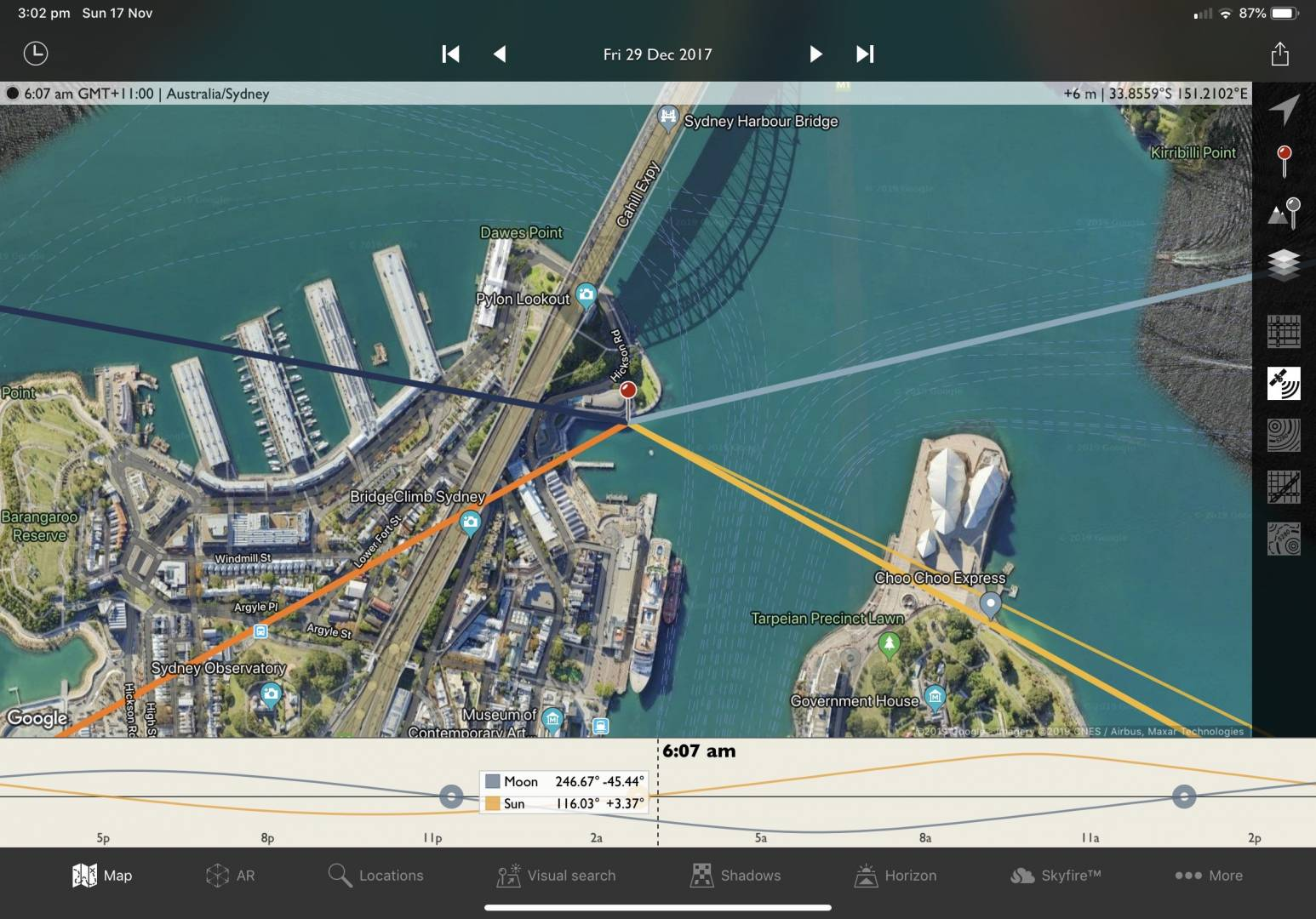 My planned shot in TPE, ironically with cruise ship in position
