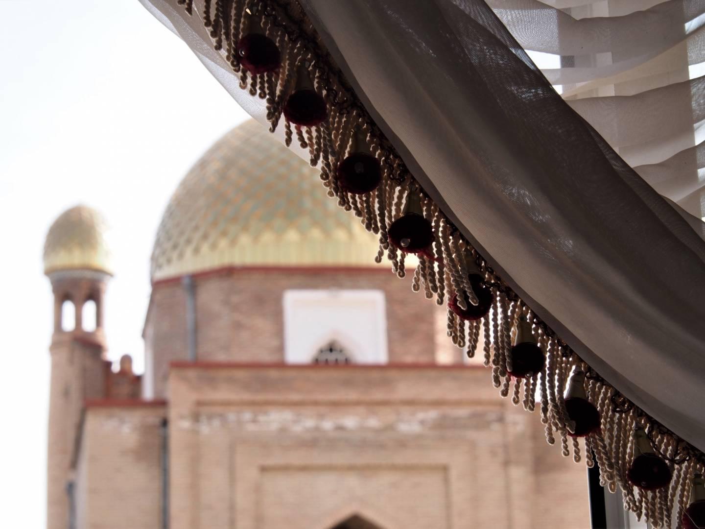 Fringe tassels, Khujand, Tajikistan