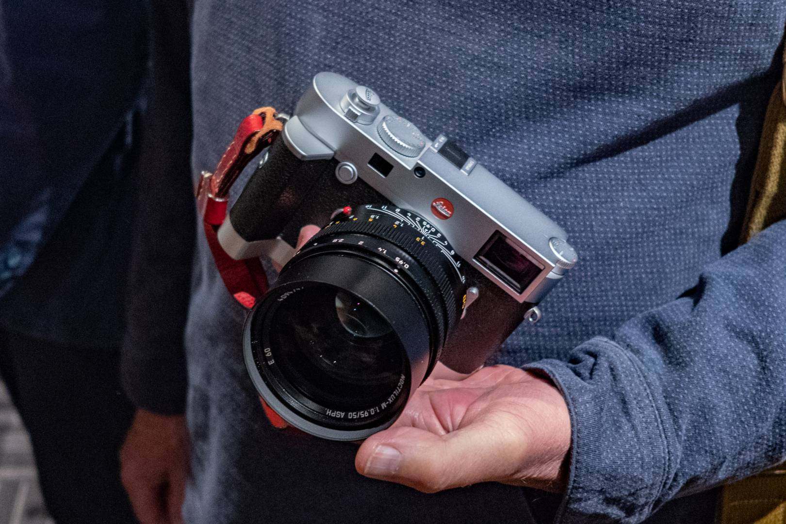 The M10 could just well be the apogee for Leica's digital rangefinder format. It matches the M7 is size and feel and the new control layout and haptics are generally acclaimed to be the best yet. Future developments could be restricted to internals. Faster processors a given and there will be denser sensors. But compatibility with the full range of M lenses puts a ceiling on resolution. Image of Tom Lane's M10 and 50mm Noctilux by Mike Evans, taken with the Leica CL and 18mm f/2.8