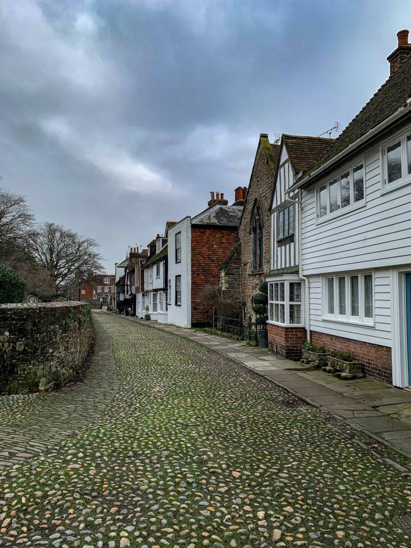 Ancient houses on Church Square, opposite the parish church of St. Mary's which itself dates back to the 11th century