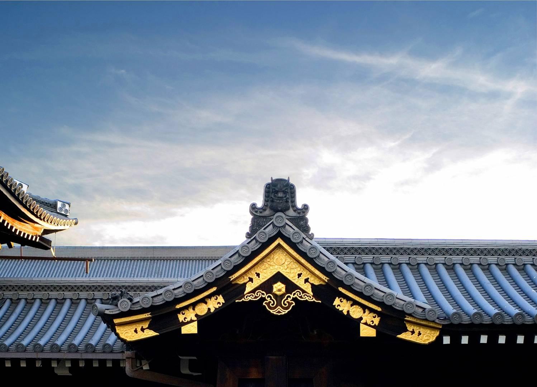 Roof detail Nishi-Hongwan-Ji Nishi-Hongwan-Ji, Leica M8 50mm Summicron
