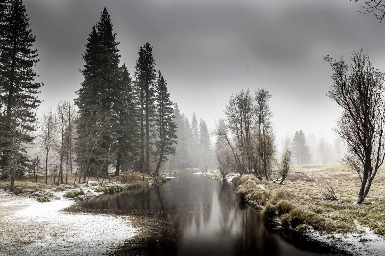 The last colour image, as in my opinion monochrome in Yosemite