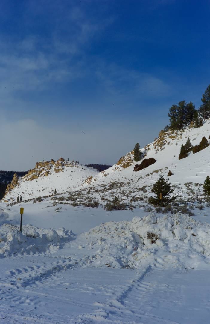 Highway 191 West Yellowstone Turnout