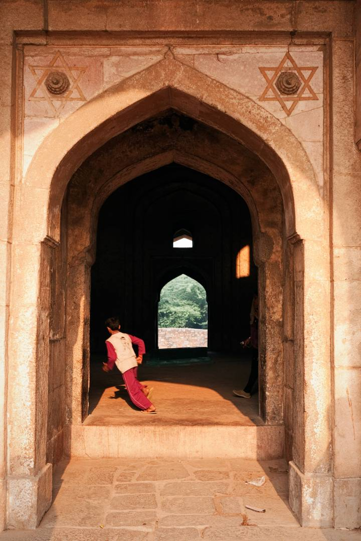 Bhool Bhulaiya, as Adham Khan's tomb in Mehrauli is popularly known, has a labyrinthine maze of passages cut into the thickness of its stone walls.