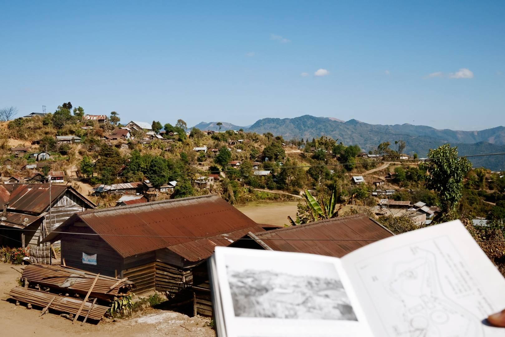 The Battlefield of Sangshak