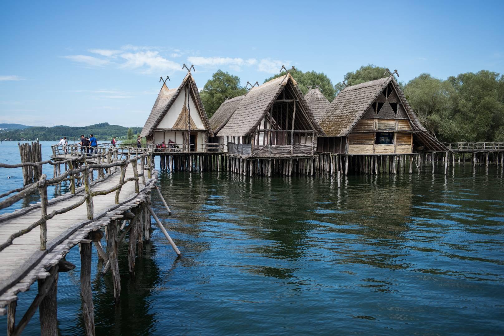 The stone age, as we imagine it. Pile dwellings in Lake Constance, museum in Unteruhldingen. Summarit-M 35/2.4 1/1500 sec, f/2.8, ISO 200 - Leica M Typ 240 (Image ©Jörg-Peter Rau)