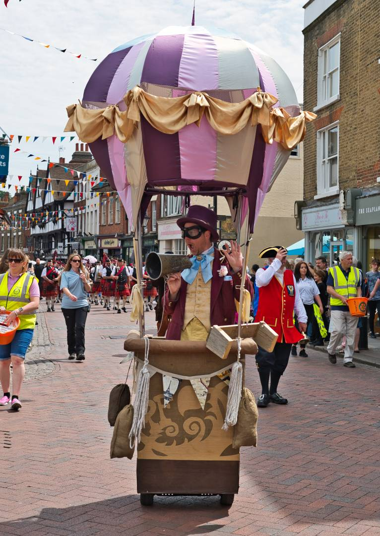 Balloon Crier – Another Segway at the summer Dickens – shot on Nikon Df and 50mm 1.8G