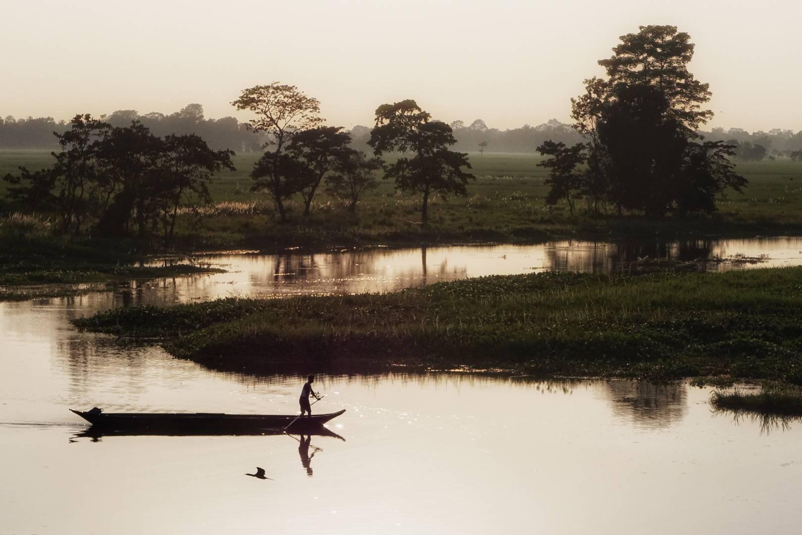 Majuli is a wetland vulnerable to erosion