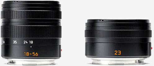 There were just two lenses at the birth of the T – the 18-56mm Vario-Elmar and the 23mm f/2 Summicron