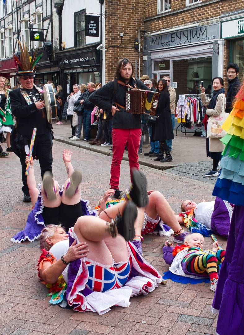 Loose Women – What can I say, this happens every day on the high street near me – Shot on Leica X