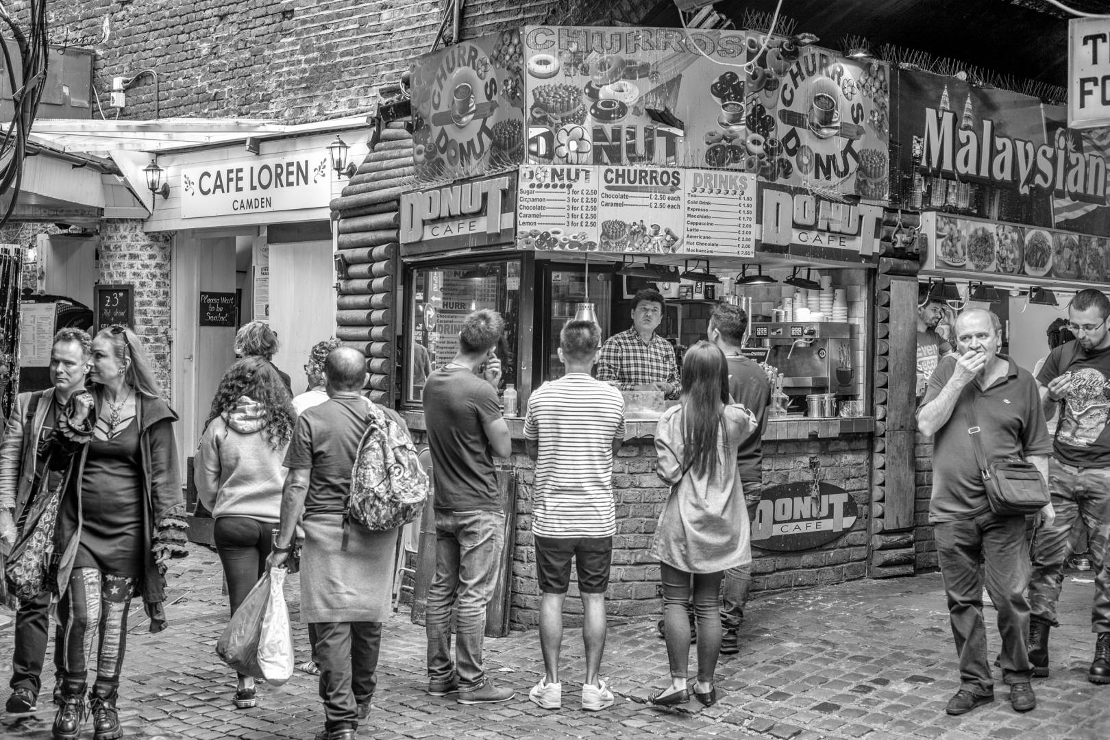 Camden Market, London (Leica Monochrom with 50mm Summicron)
