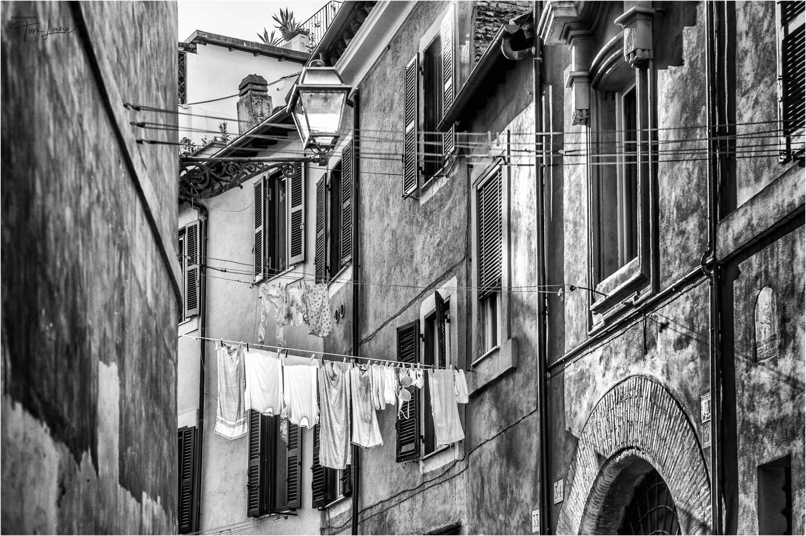 """Drying the Washing"", taken in Rome (Leica Monochrom with the Apo-Summicron 75mm f/2 ASPH lens)"