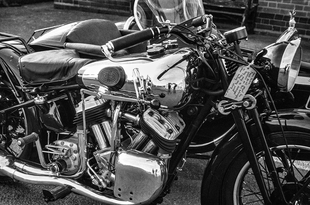 This mid-1930s Brough Superior was captured  by a contemporary Leica III and the classic f/3.5 5cm Elmar. The camera may be 85 years old, but it still performs and will give you a lot of fun for relatively little outlay