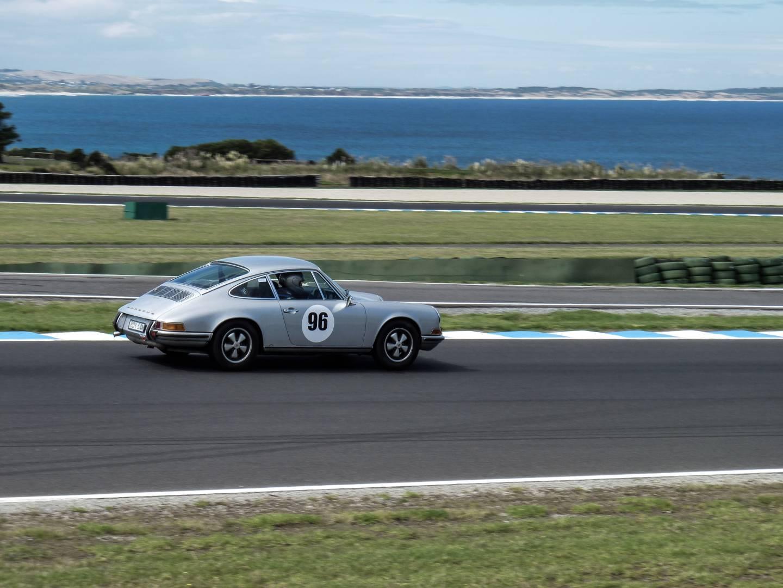 At speed, Philip Island Historic Races
