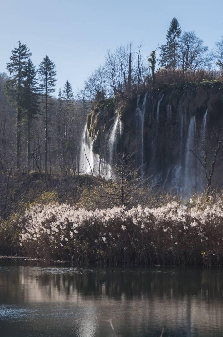 The Great Prštavci across Gradinsko Lake