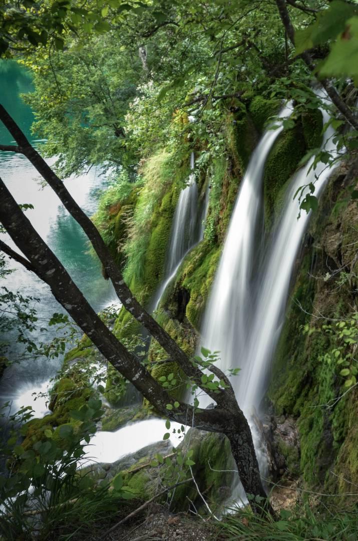 Waterfall from Prošćansko into Ciginovac