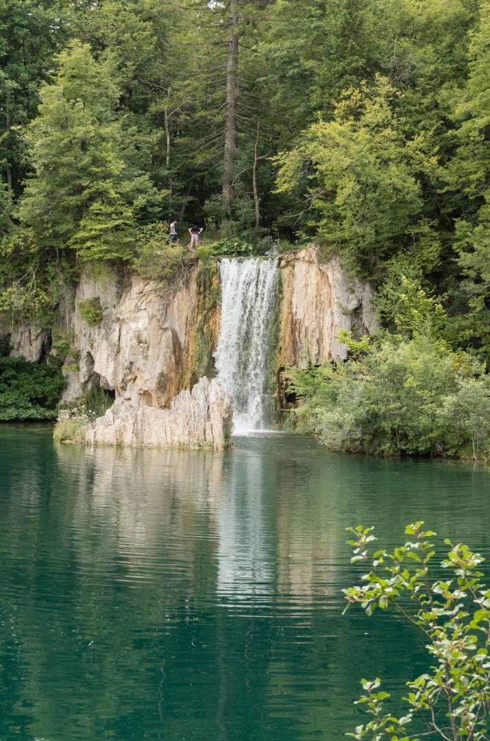 Waterfall from Ciginovac into Okrugljak