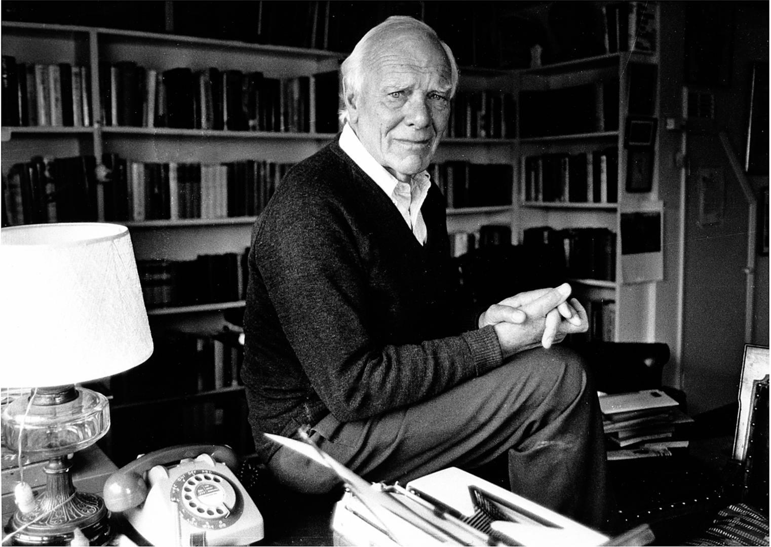 Thomas Malcolm Muggeridge (1903-1990), English journalist and satirist (©Don Morley)