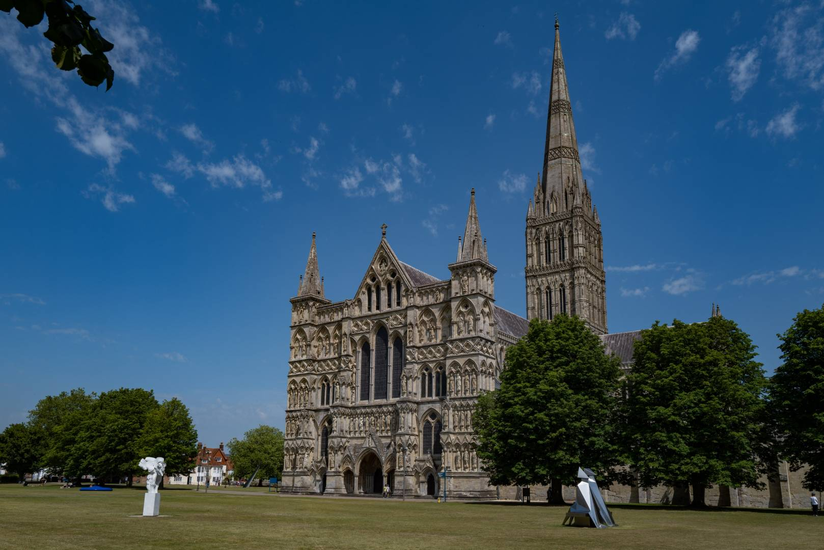 More artworks guard the XXXX of the 13th-century cathedral
