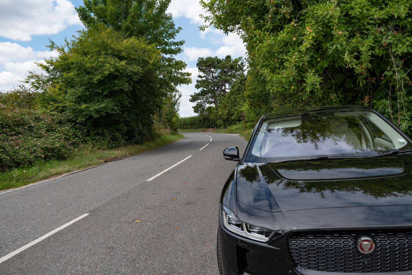 The call of the open road. As lockdown ends, the I-Pace (now called Oskar) comes into his own again