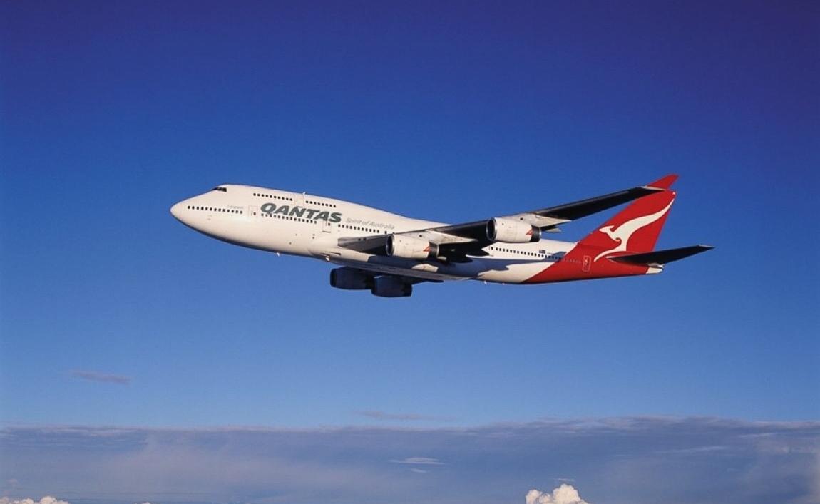 Quantas 747 (screenshot)