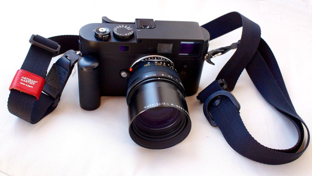 Leica M9 Monochrome with 75mm Apo-Summicron lens and Artisan & Artist strap